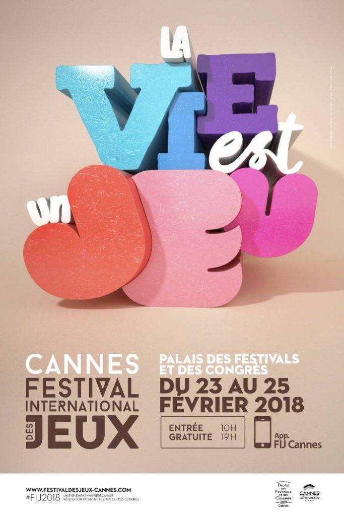 Affiche FIJ Cannes 2018